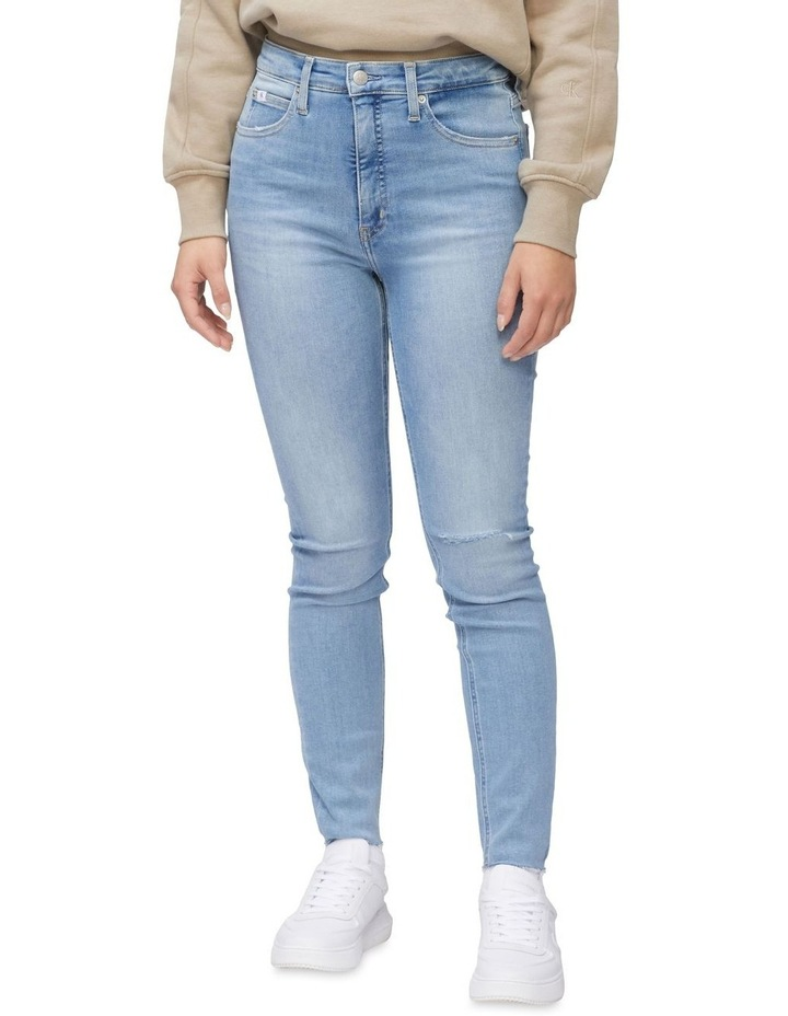 High Rise Super Skinny Ankle Jeans image 3