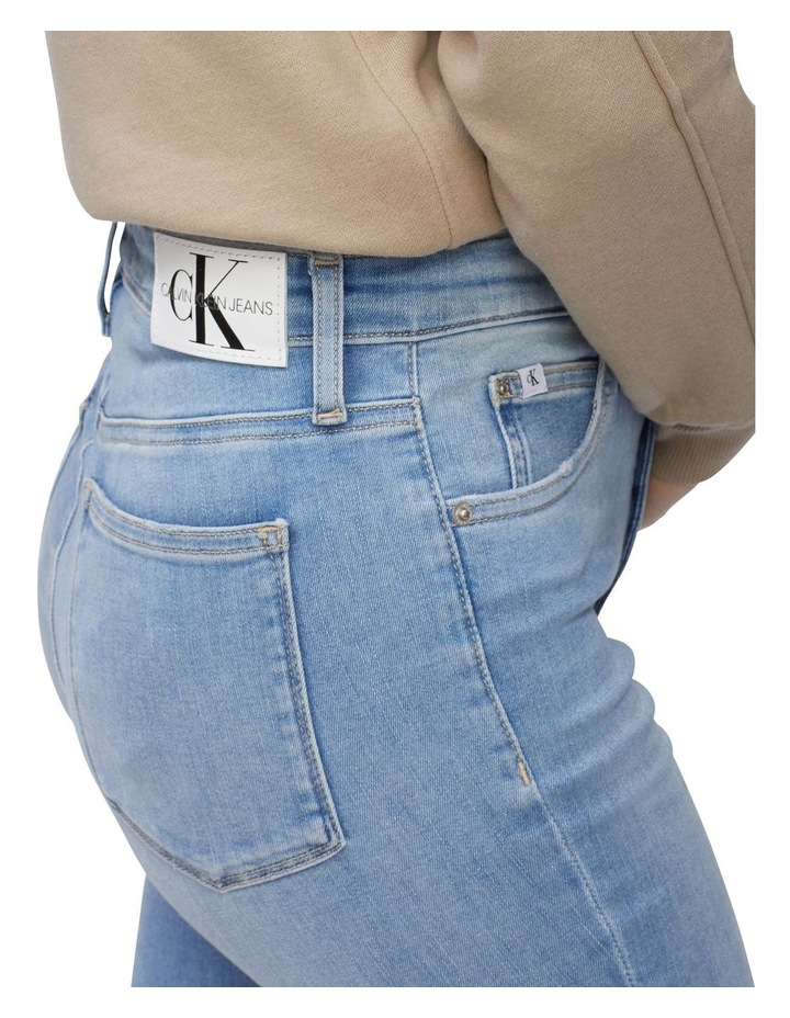 High Rise Super Skinny Ankle Jeans image 4
