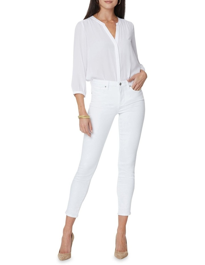 Alina Ankle Jeans White image 1