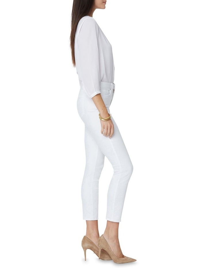 Alina Ankle Jeans White image 3