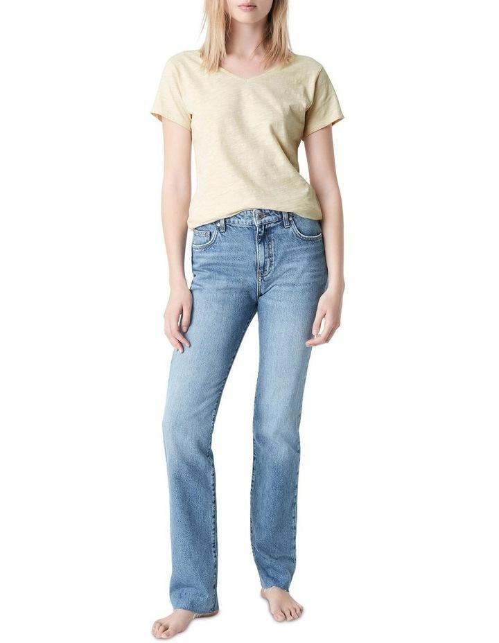 Veronica  High Rise Slim Straight Jeans image 1