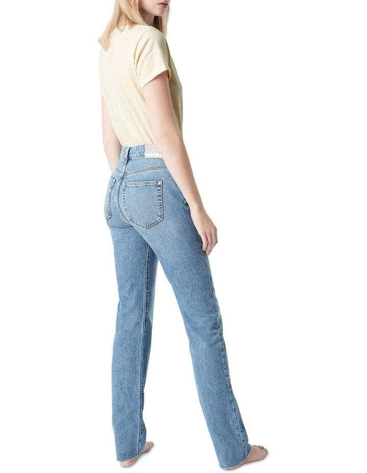 Veronica  High Rise Slim Straight Jeans image 2