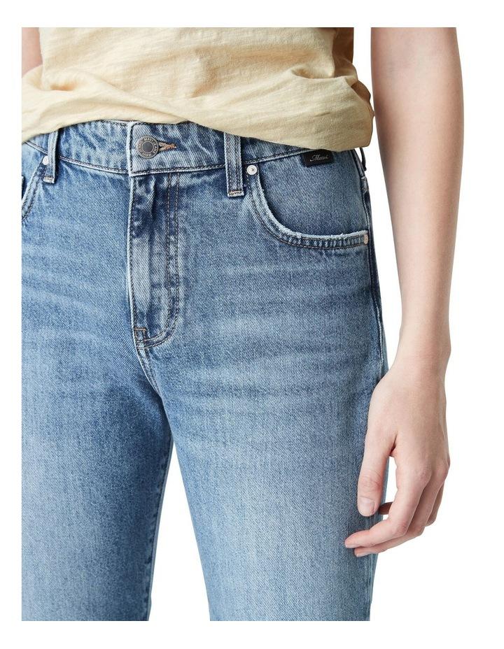 Veronica  High Rise Slim Straight Jeans image 4