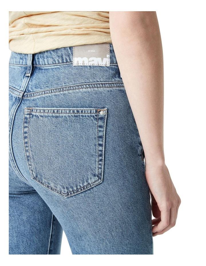 Veronica  High Rise Slim Straight Jeans image 5