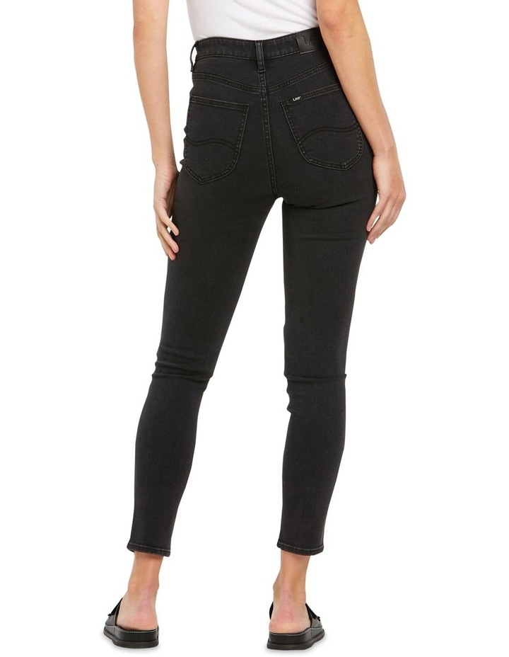 High Licks Crop Black Rukus Jeans image 2