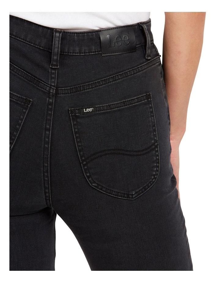High Licks Crop Black Rukus Jeans image 3