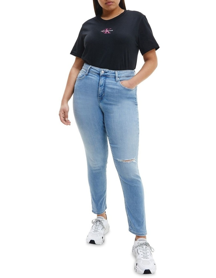 High Rise Skinny Ankle Plus Jeans image 1
