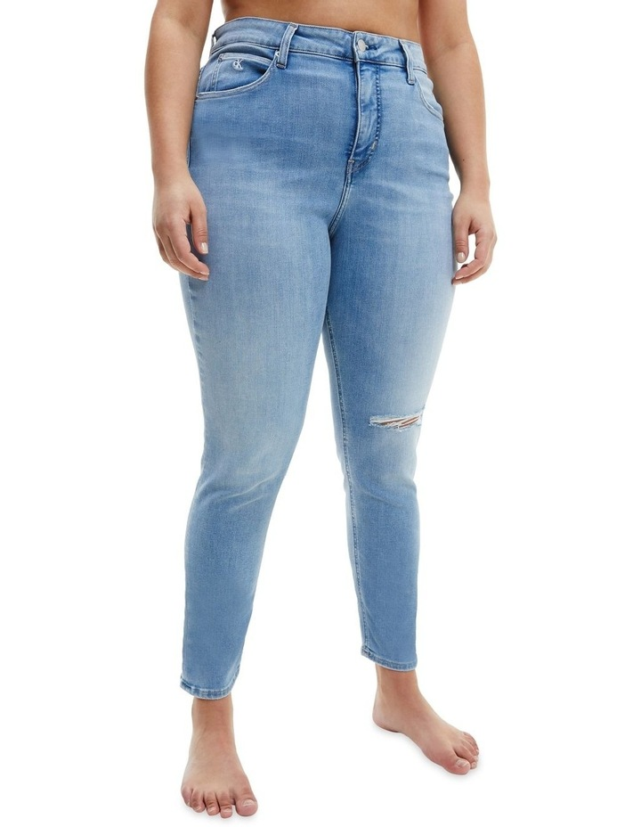 High Rise Skinny Ankle Plus Jeans image 3
