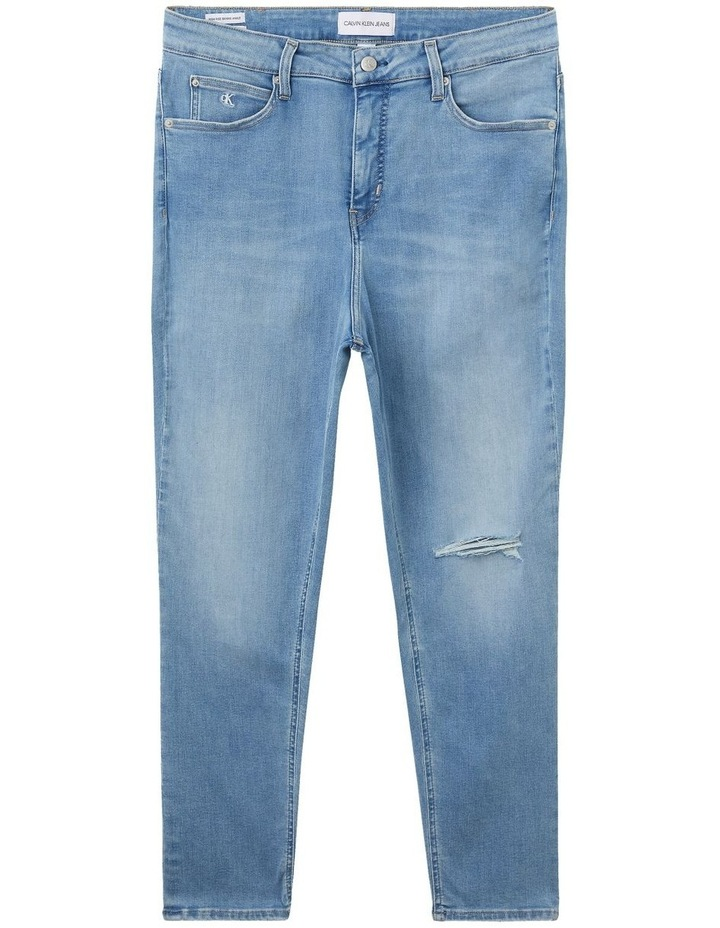 High Rise Skinny Ankle Plus Jeans image 5
