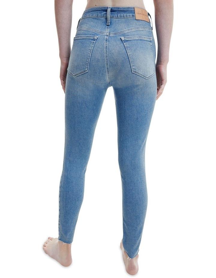 Mid Rise Skinny Ankle Jeans image 2
