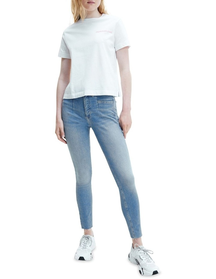 Mid Rise Skinny Ankle Jeans image 3
