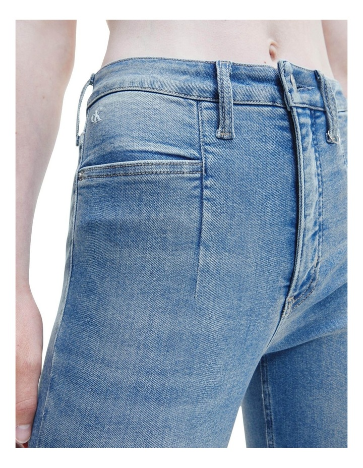 Mid Rise Skinny Ankle Jeans image 4