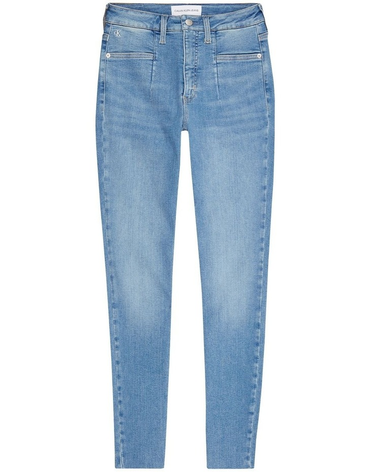Mid Rise Skinny Ankle Jeans image 5