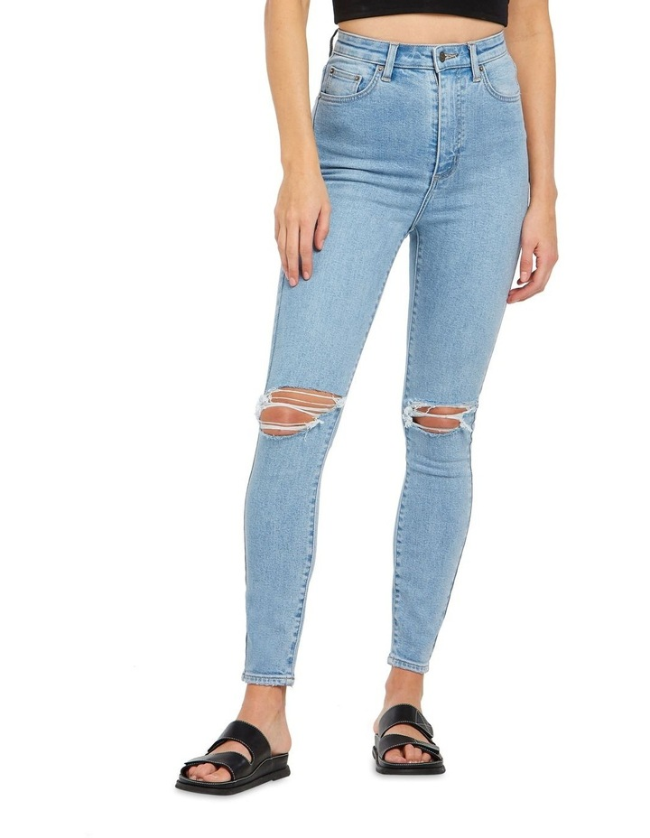 High Licks Crop Jeans image 1