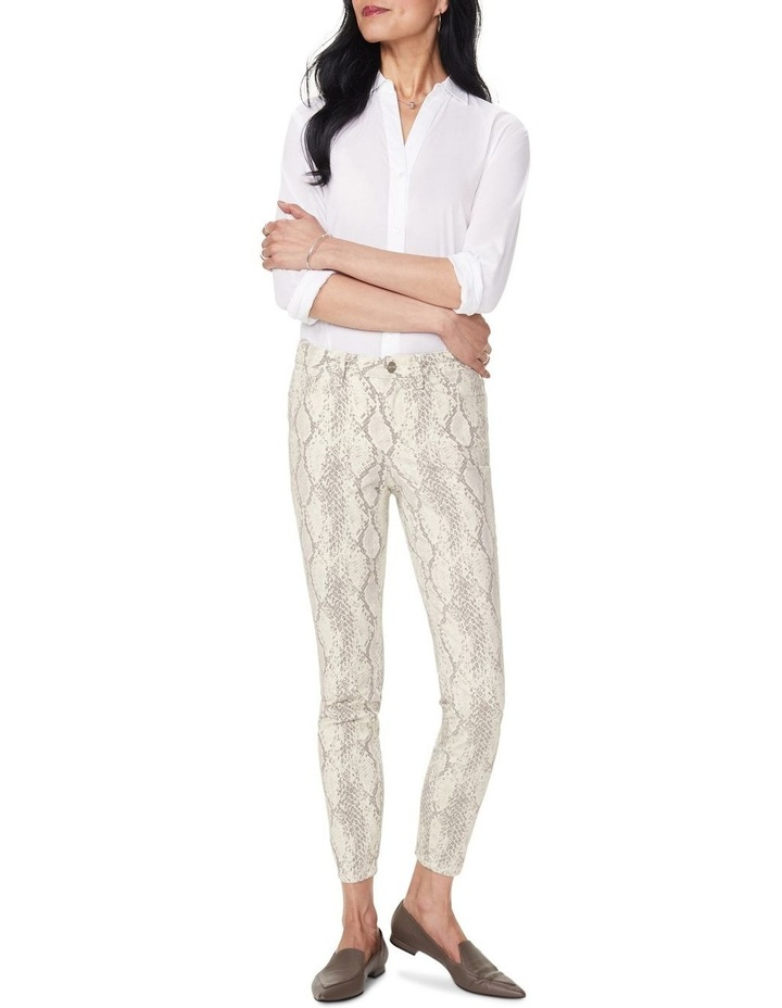 Ami Diamond Skinny Jean Vanilla image 1