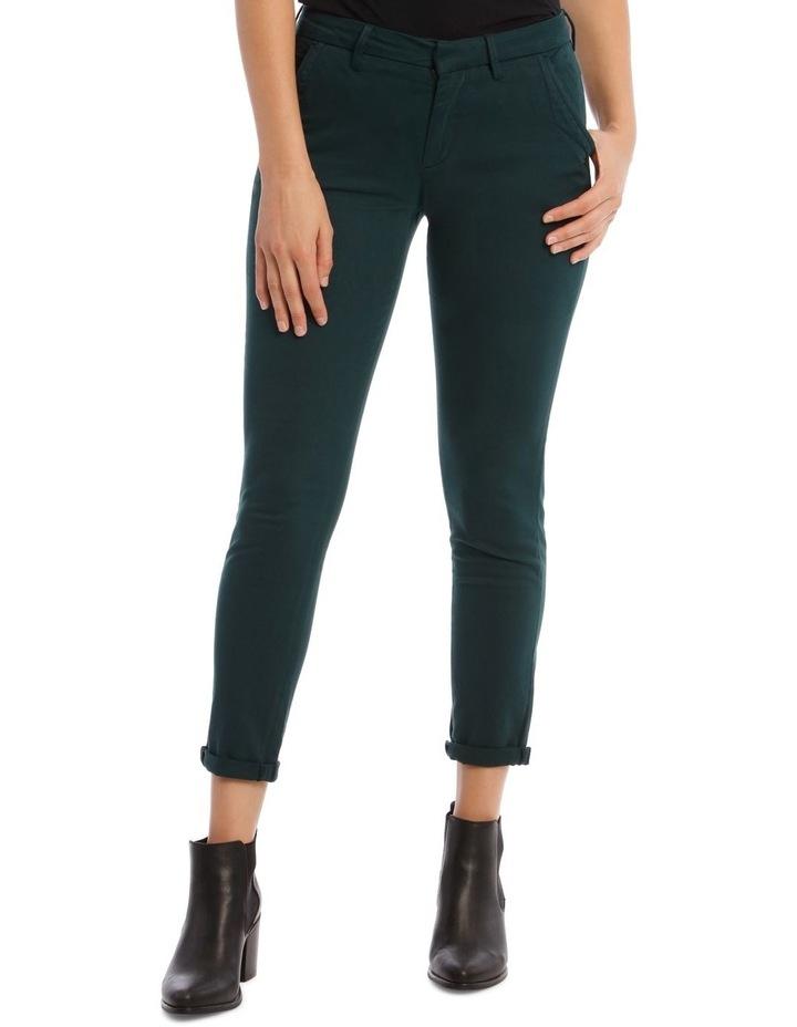 Sandy 2 Basic Pants In Teal image 1