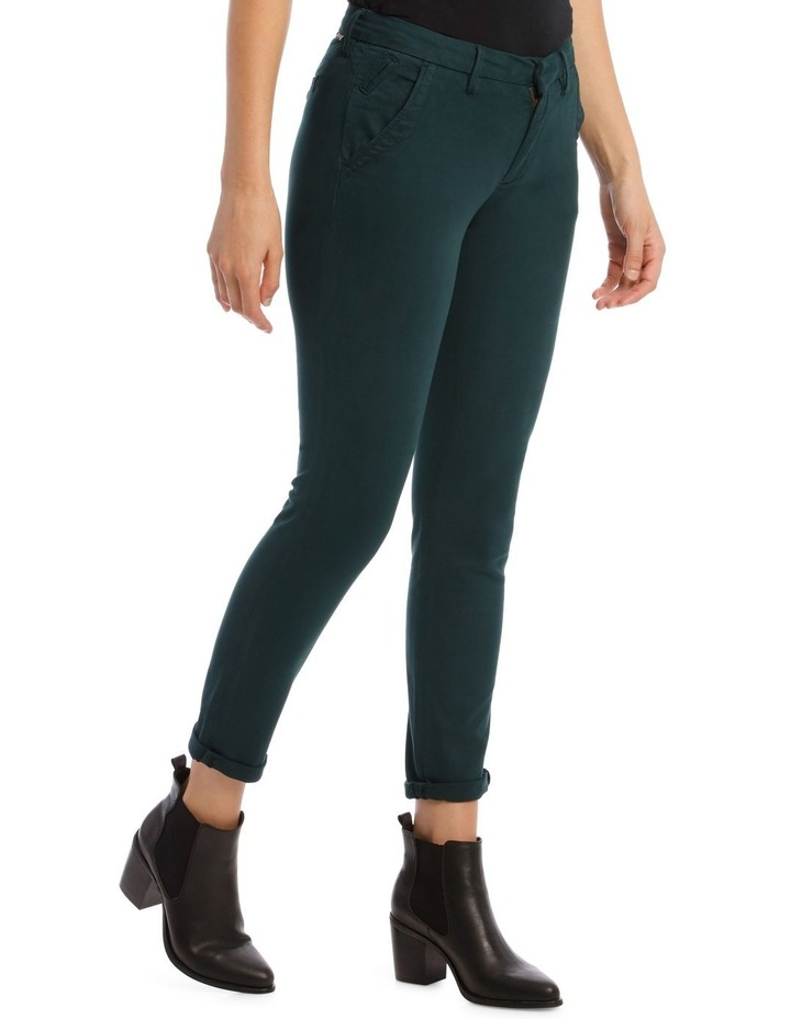 Sandy 2 Basic Pants In Teal image 2