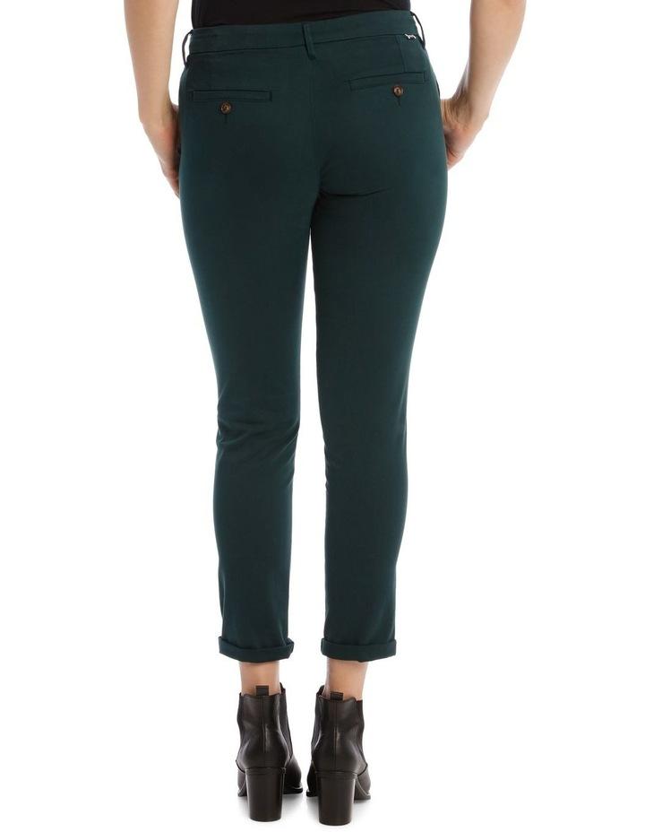 Sandy 2 Basic Pants In Teal image 3