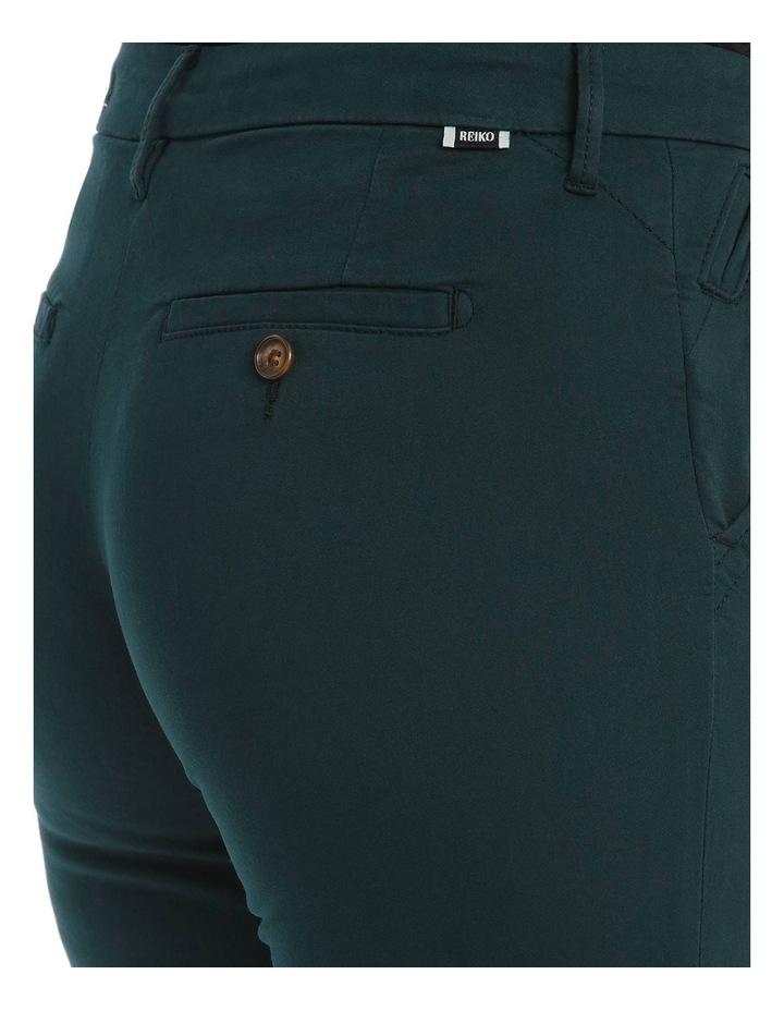 Sandy 2 Basic Pants In Teal image 4