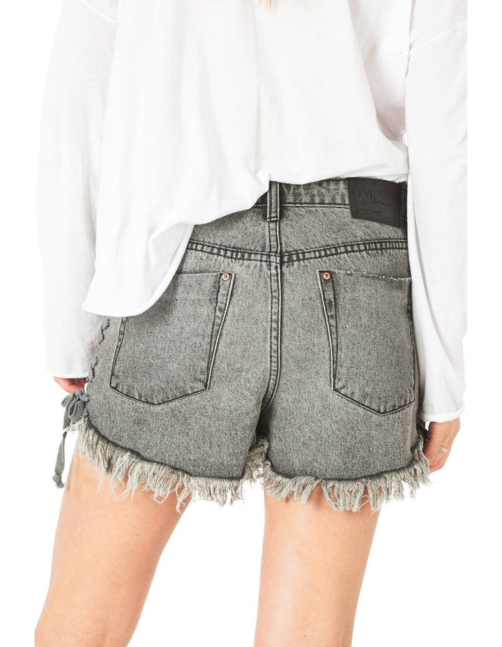Outlaw Denim Shorts image 2
