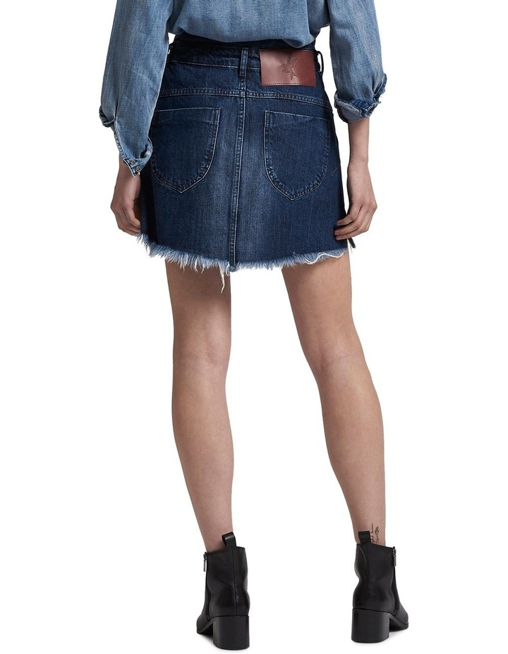 Lonestar Vanguard Mid Rise Relaxed Denim Mini Skirt image 3