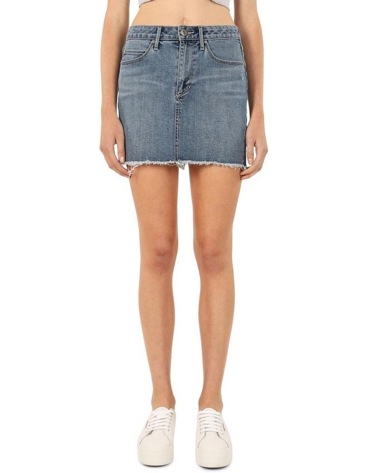 Liz Skirt (Mid Rise Fringe Skirt) image 1