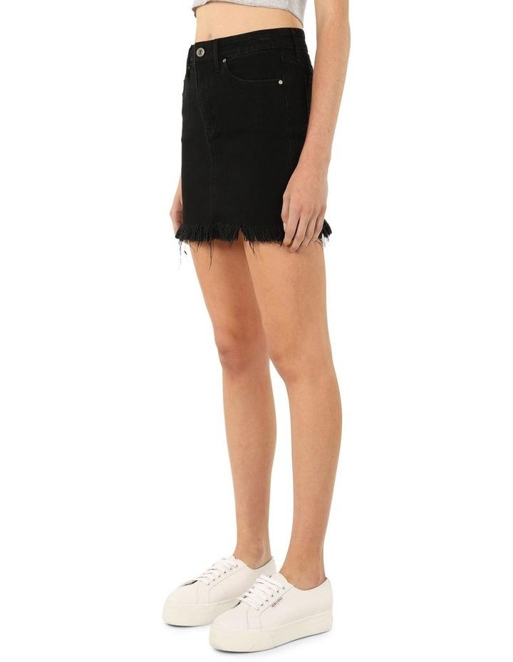 Liz Skirt (Mid Rise Fringe Skirt) image 2