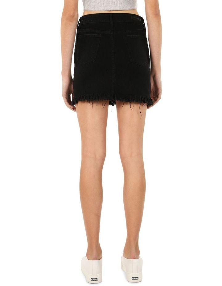 Liz Skirt (Mid Rise Fringe Skirt) image 3