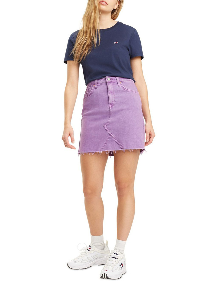 Short Denim Skirt image 1