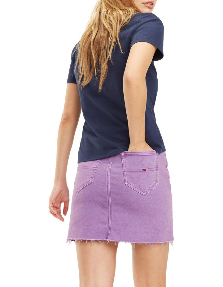 Short Denim Skirt image 3