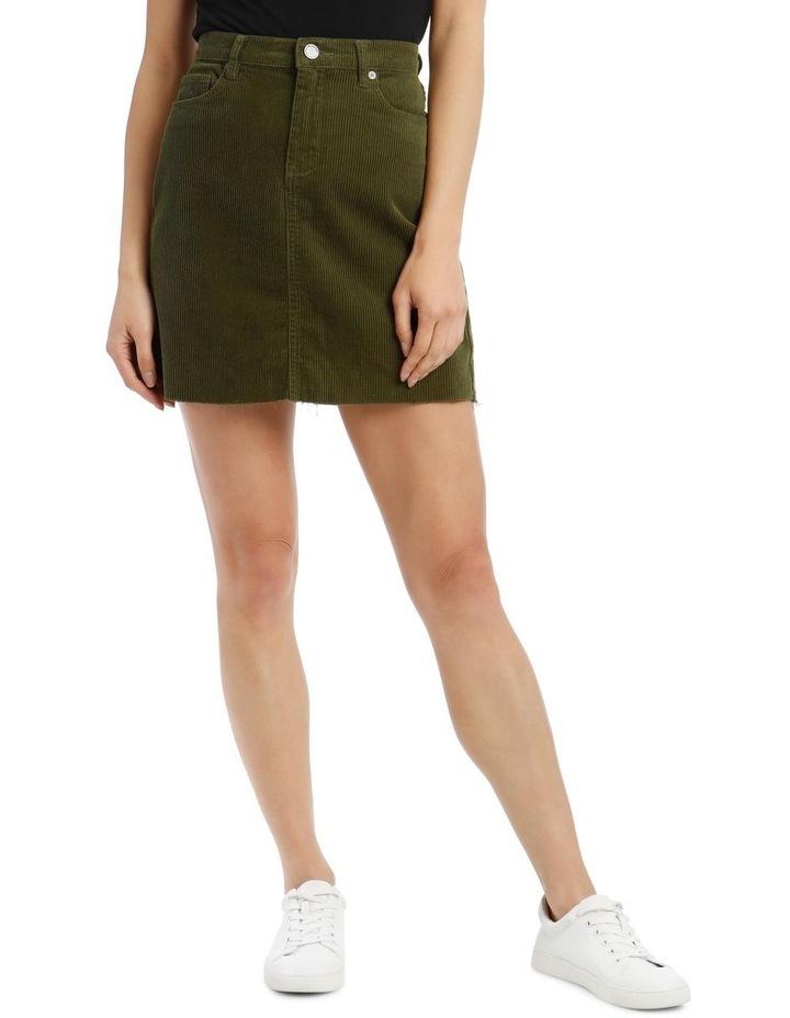 High-Rise Mini Skirt image 1