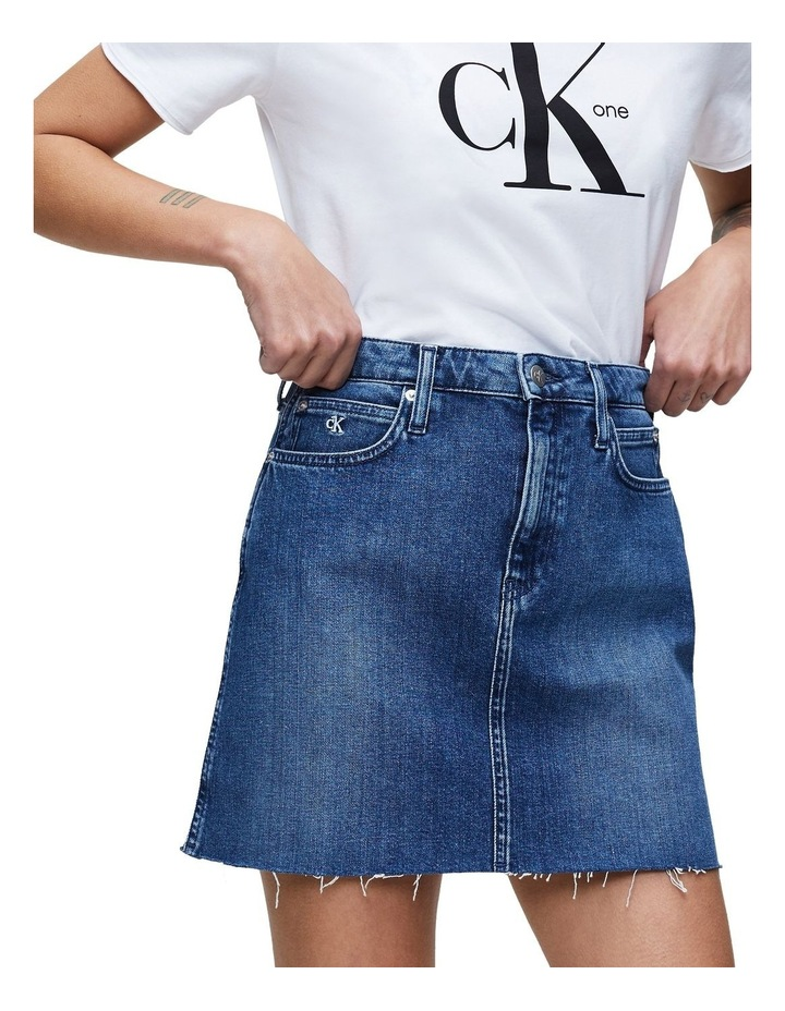 High Rise Mini Skirt image 1