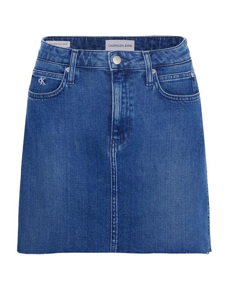High Rise Mini Skirt image 2