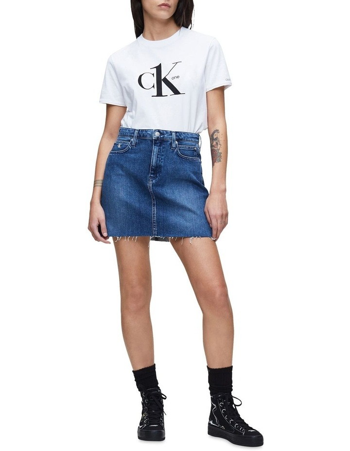 High Rise Mini Skirt image 4