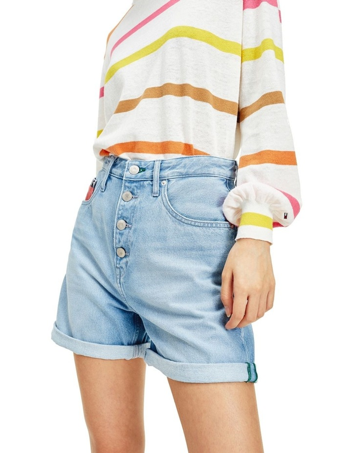 Heritage Recycled Denim Button Fly Shorts image 1