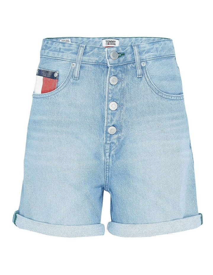 Heritage Recycled Denim Button Fly Shorts image 3