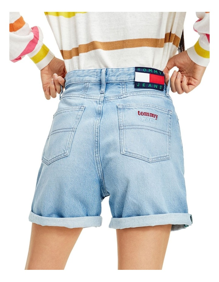 Heritage Recycled Denim Button Fly Shorts image 4