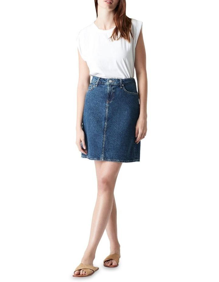 Valerie Mini Skirt Blue Denim image 1