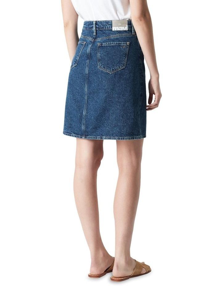 Valerie Mini Skirt Blue Denim image 2