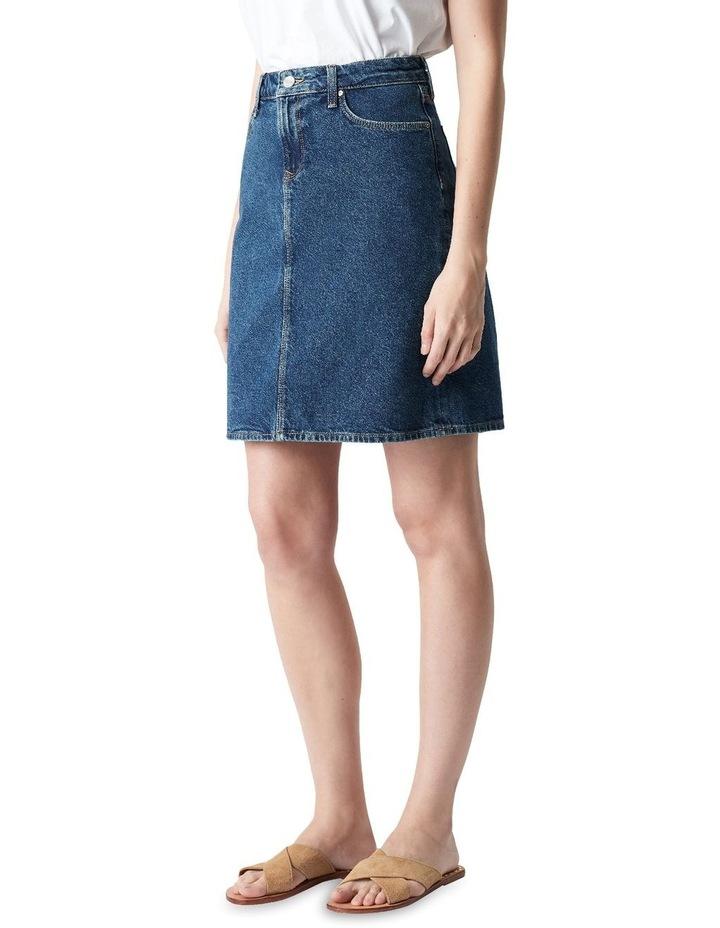 Valerie Mini Skirt Blue Denim image 3