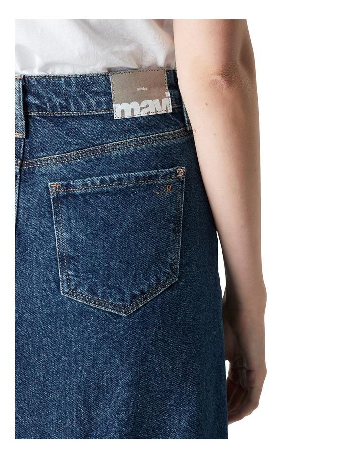 Valerie Mini Skirt Blue Denim image 5