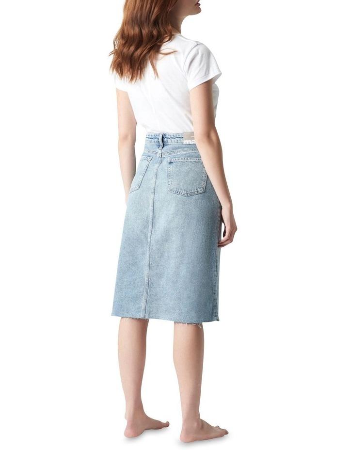 Megan Aline Denim Skirt Shaded Denim image 2