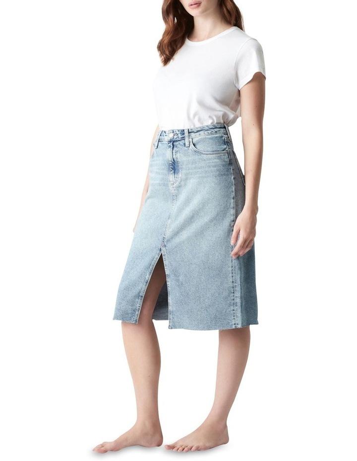 Megan Aline Denim Skirt Shaded Denim image 3