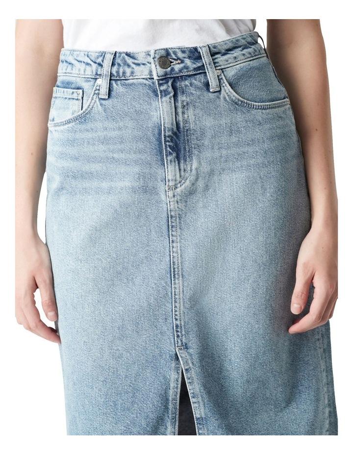 Megan Aline Denim Skirt Shaded Denim image 4
