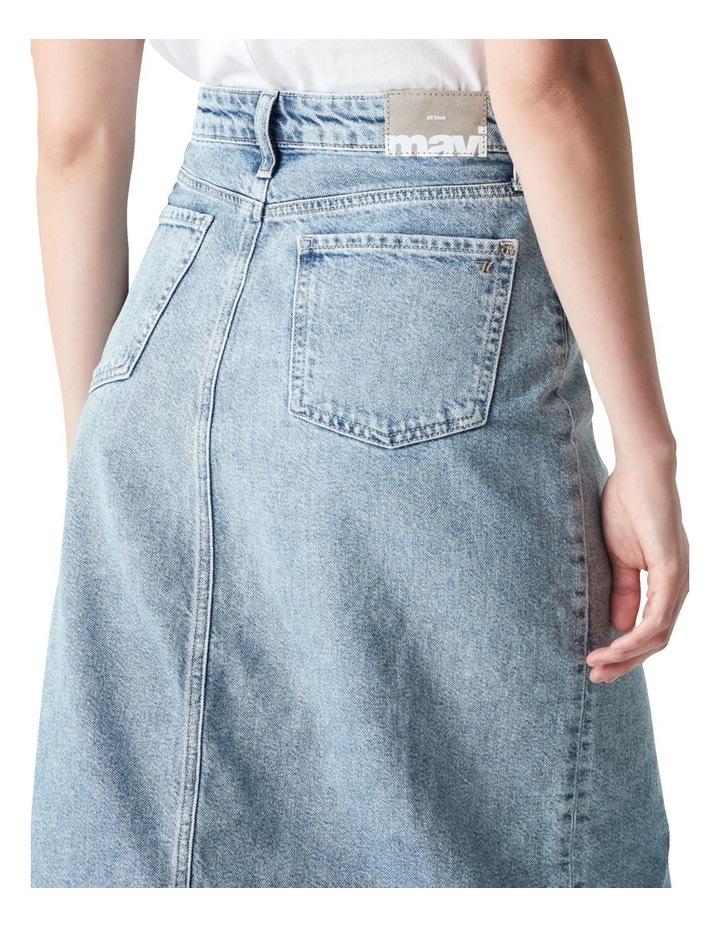 Megan Aline Denim Skirt Shaded Denim image 5