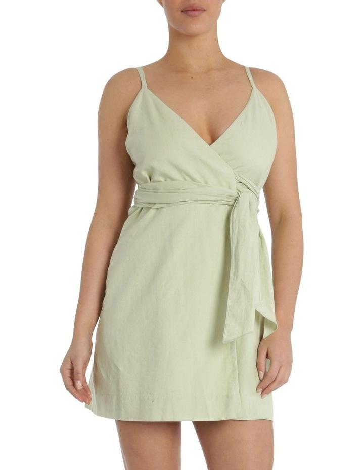Albion Linen Wrap Dress image 1