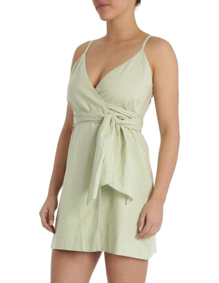Albion Linen Wrap Dress image 2