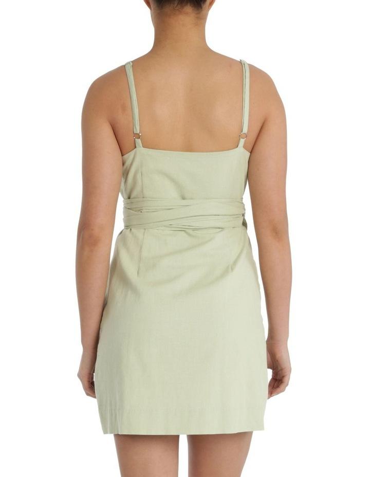 Albion Linen Wrap Dress image 3