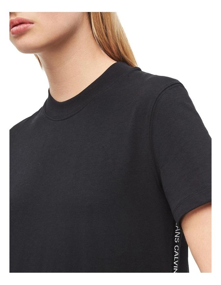 Tape Logo T-Shirt Dress image 3