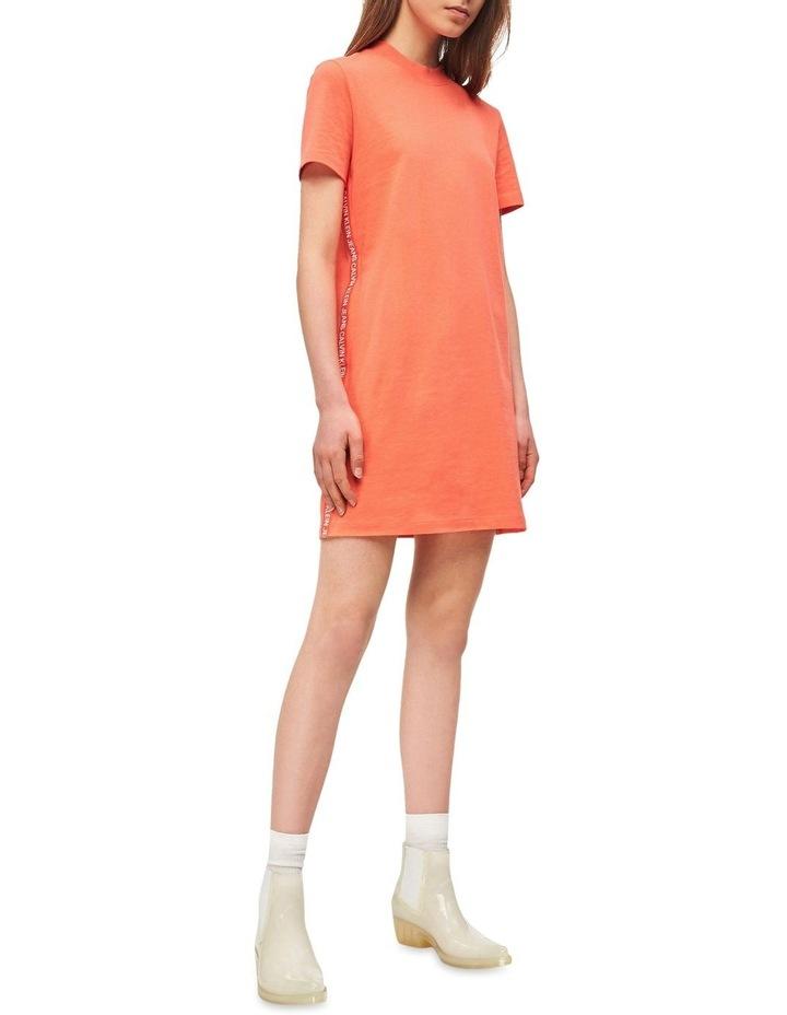 Tape Logo T Shirt Dress by Calvin Klein Jeans